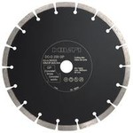 Diámetro de disco 230 mm Color Amarillo / Violeta Para usar con AG/DC/DAG/DCG 230 Velocidad max. Permitida 6650 rpm Material base Materiales de construcción con mineral general Profundidad de corte max. 60 mm Espesor de la hoja 2.8 Mandril 22.2 mm Forma